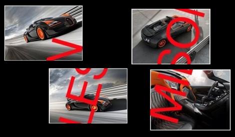 Родстер Veyron Vitesse WRC разгоняется до 408,8 километра в час