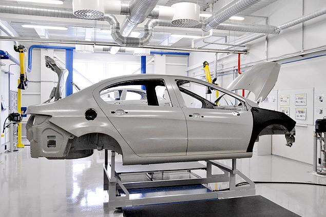 Все подробности о седане Citroen, который создавался специально для России. Фото 12