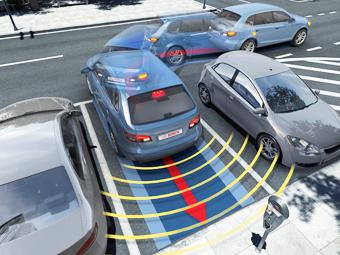 Bosch научит автопарковщик переключать передачи