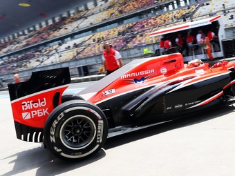 Команда Формулы-1 Marussia нашла российского медиа-партнера