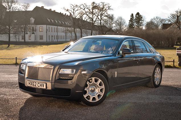 Внезапный тест-драйв роскошного седана Rolls-Royce Ghost