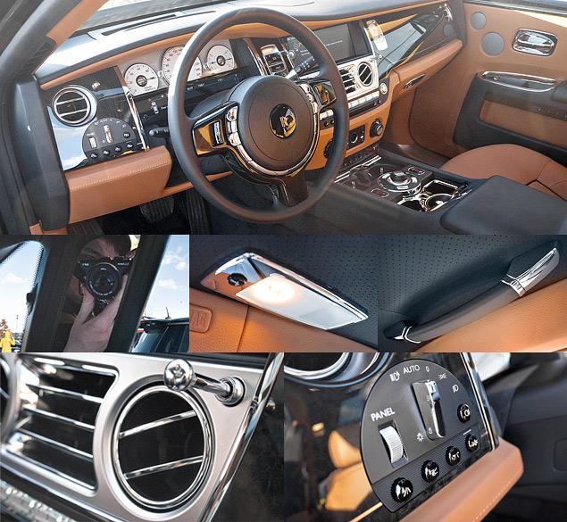 Внезапный тест-драйв роскошного седана Rolls-Royce Ghost. Фото 1