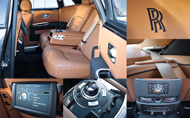 Внезапный тест-драйв роскошного седана Rolls-Royce Ghost. Фото 9