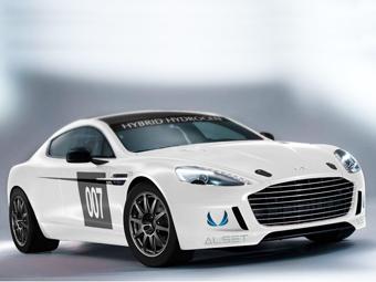 Aston Martin выведет на суточный марафон водородный Rapide