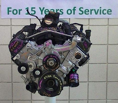 В Детройте прекратили сборку моторов 4.7 V8