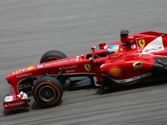 Фернандо Алонсо выиграл Гран-при Китая