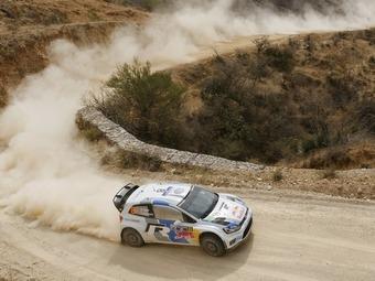 Команда Volkswagen выиграла третью гонку WRC подряд