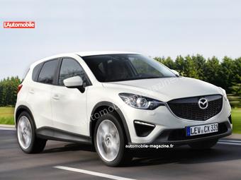 Mazda оставит мини-CX-5 без полного привода