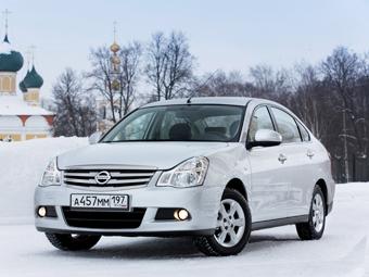 В России начались продажи Nissan Almera