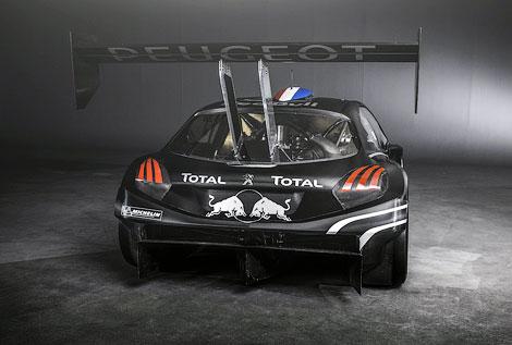 Гоночный вариант Peugeot 208 оснастили 875-сильным двигателем V6