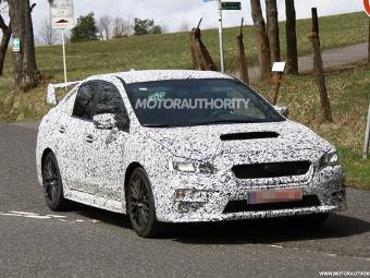 Subaru начала испытания нового седана WRX STI