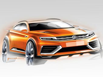 "Volkswagen привезет в Шанхай предвестника нового ""Тигуана"""