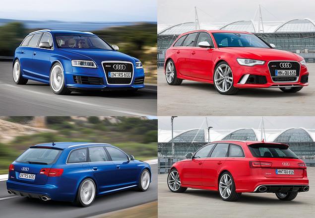 """Испытываем две """"заряженные"""" Audi: S3 и RS6 Avant"""