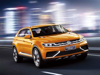 В Сеть попали фотографии китайского концепт-кара Volkswagen