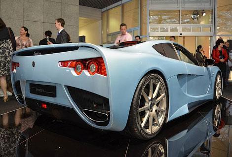 Компания Vencer представила 517-сильный суперкар Sarthe
