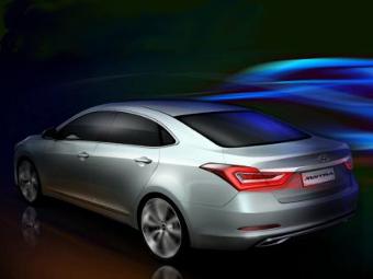 Компания Hyundai показала предвестника семейного седана