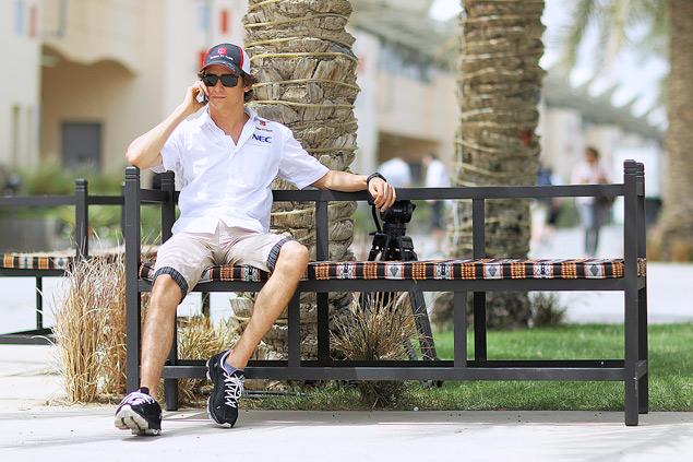Подиум Гран-при Бахрейна полностью повторил прошлогодний. Фото 4