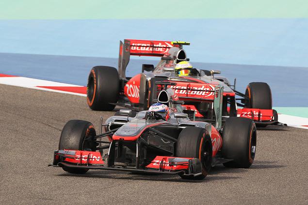 Подиум Гран-при Бахрейна полностью повторил прошлогодний. Фото 5
