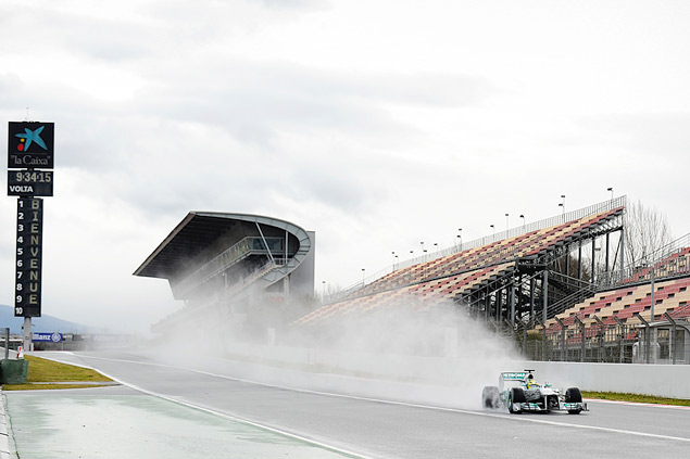 Подиум Гран-при Бахрейна полностью повторил прошлогодний. Фото 6