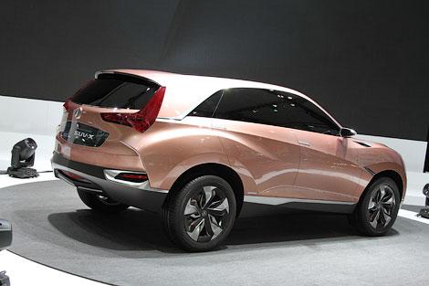 В Шанхае дебютировали кроссовер Acura и минивэн Honda
