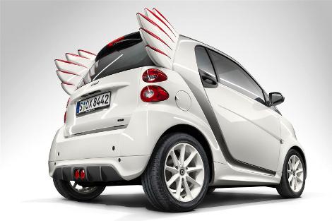 В Шанхае дебютировала специальная модификация компакт-кара Smart