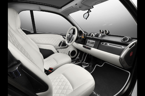 В Шанхае дебютировала специальная модификация компакт-кара Smart. Фото 1