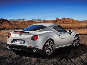 Maserati построит свой вариант спорткупе Alfa Romeo 4C