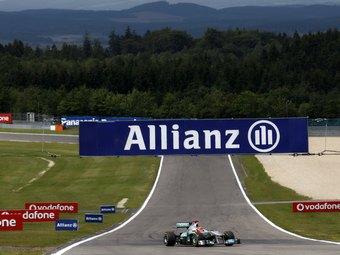 Шумахер проедет по старому Нюрбургрингу на болиде Формулы-1