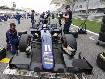 В Бахрейне российская команда GP2 осталась без опытных инженеров