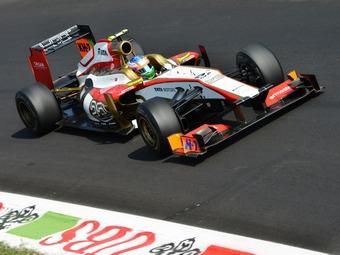 Шасси команды Формулы-1 HRT продадут на интернет-аукционе