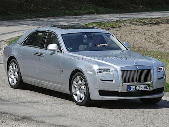 Rolls-Royce освежит внешность седана Ghost