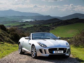 Названы рублевые цены на родстер Jaguar F-Type