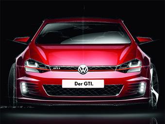 Прототип новой версии VW Golf GTI покажут на тюнинг-фестивале