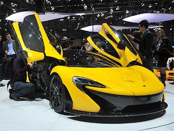 Спрос на гиперкары McLaren P1 превысил прогнозы