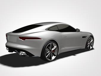 Купе Jaguar F-Type появится в 2014 году