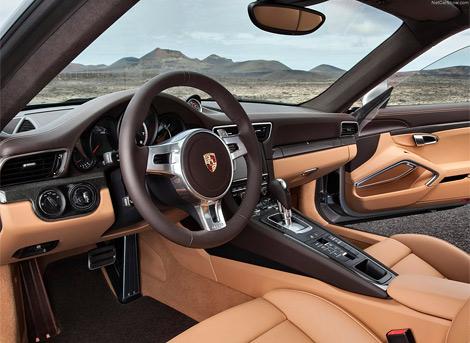 Компания Porsche рассекретила сразу две турбо-версии Porsche 911. Фото 2