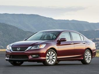 Honda Accord в апреле стал самым продаваемым седаном в США