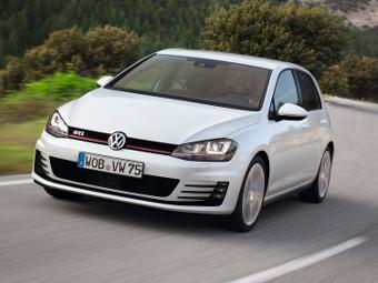 """""""Заряженные"""" Volkswagen Golf получат карбоновую крышу"""