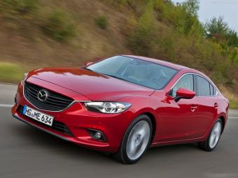 Стали известны рублевые цены на самую мощную Mazda6