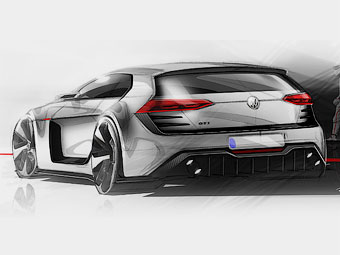 Volkswagen оснастил Golf 503-сильным мотором V6