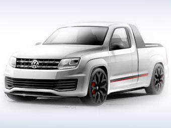 "Volkswagen научил Amarok набирать ""сотню"" за 7,9 секунды"