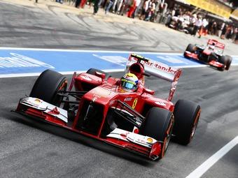 Масса и Гутиеррес потеряют по три позиции на старте Гран-при Испании