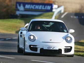 "Трековый вариант Porsche 911 Turbo S наберет ""сотню"" за три секунды"