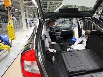 Суд запретил рабочим завода VW в Калуге бастовать