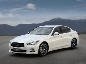 Компания Infiniti начала производство седана Q50