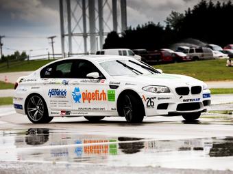 BMW M5 проехал в непрерывном дрифте 82,5 километра