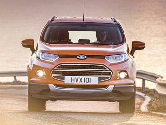 Самый маленький кроссовер Ford будут выпускать в России