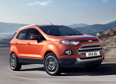 Сборка Ford EcoSport начнется в Татарстане в следующем году