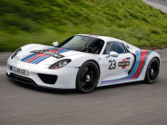 Porsche сделает гибридный суперкар быстрее Ferrari и McLaren