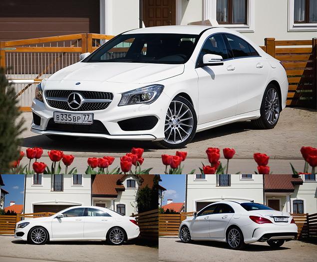 Тест-драйв двух моложавых Mercedes: хэтчбека A-класса и псевдокупе CLA